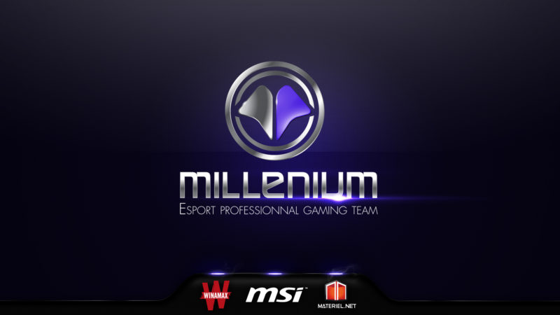 Millenium champions de France de League of Legends