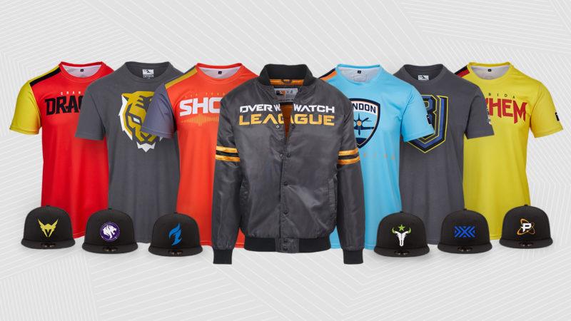 Overwatch League maillots et accessoires