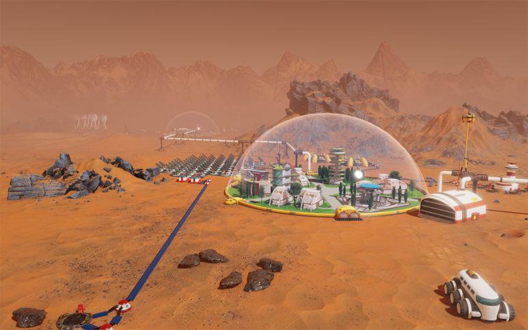 Surviving Mars colonie