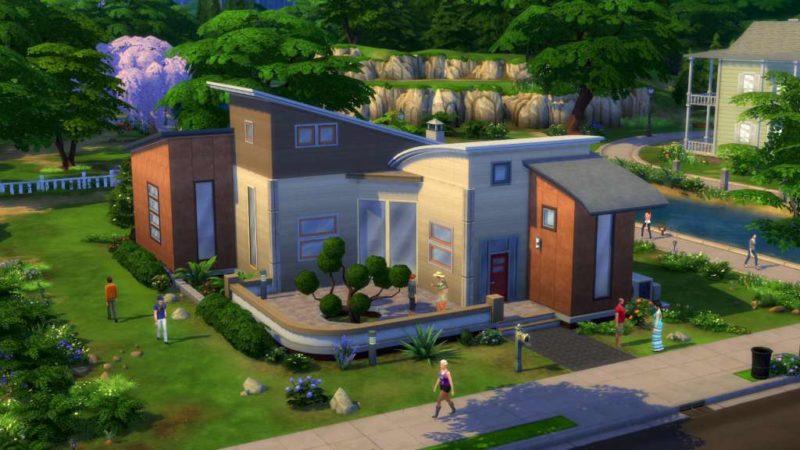 les Sims 4 maison console