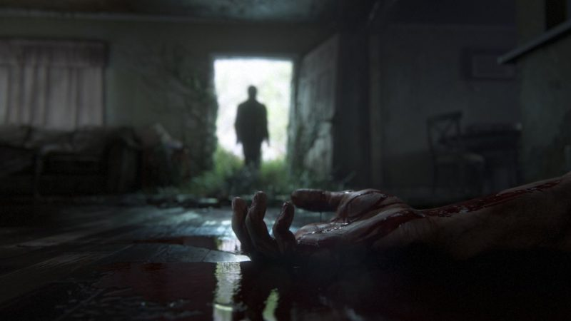 The Last of Us 2 playstation 4 silhouette