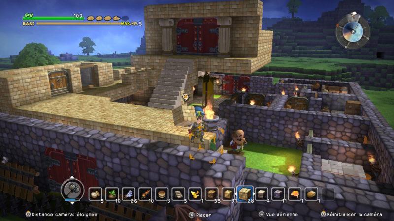 Dragon Quest Builders -une idée de ce qu'on peut faire (1)