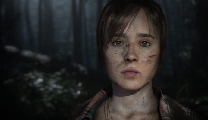 PlayStation Plus Ellen Page Quantic Dream