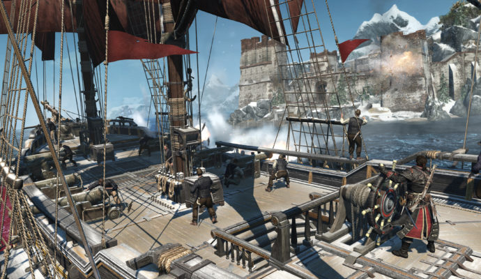 Assassin's Creed Rogue Remastered fort