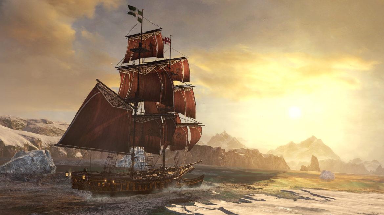 Assassin's Creed Rogue Remastered bateau