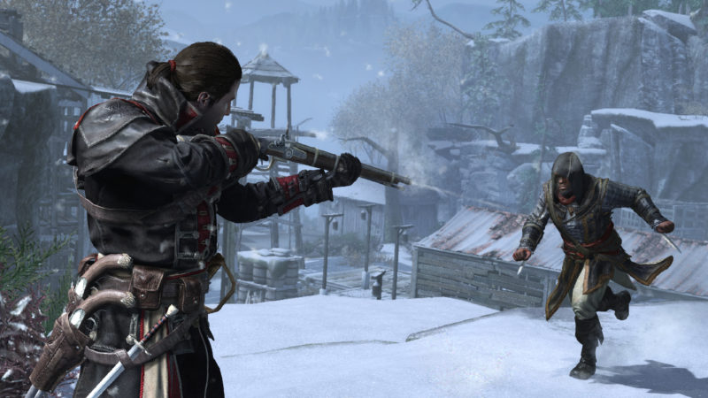 Assassin's Creed Rogue Remastered fusil