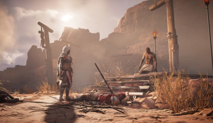 Assassin's Creed Origins The Hidden Ones - Bayek