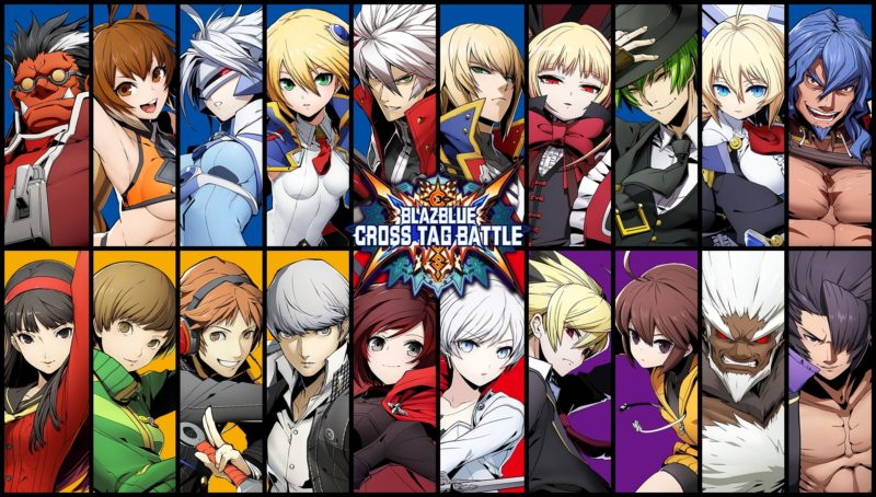 BlazBlue: Cross Tag Battle les personnages jouables