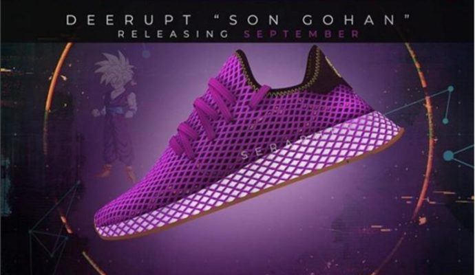 Chaussure Adidas X Dragon Ball Son Gohan