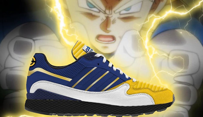 Chaussure Adidas X Dragon Ball Vegeta