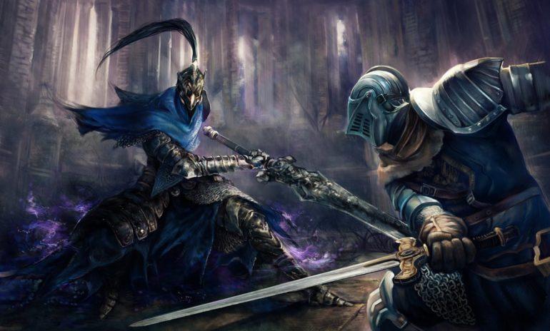 Dark Souls combat contre Artorias