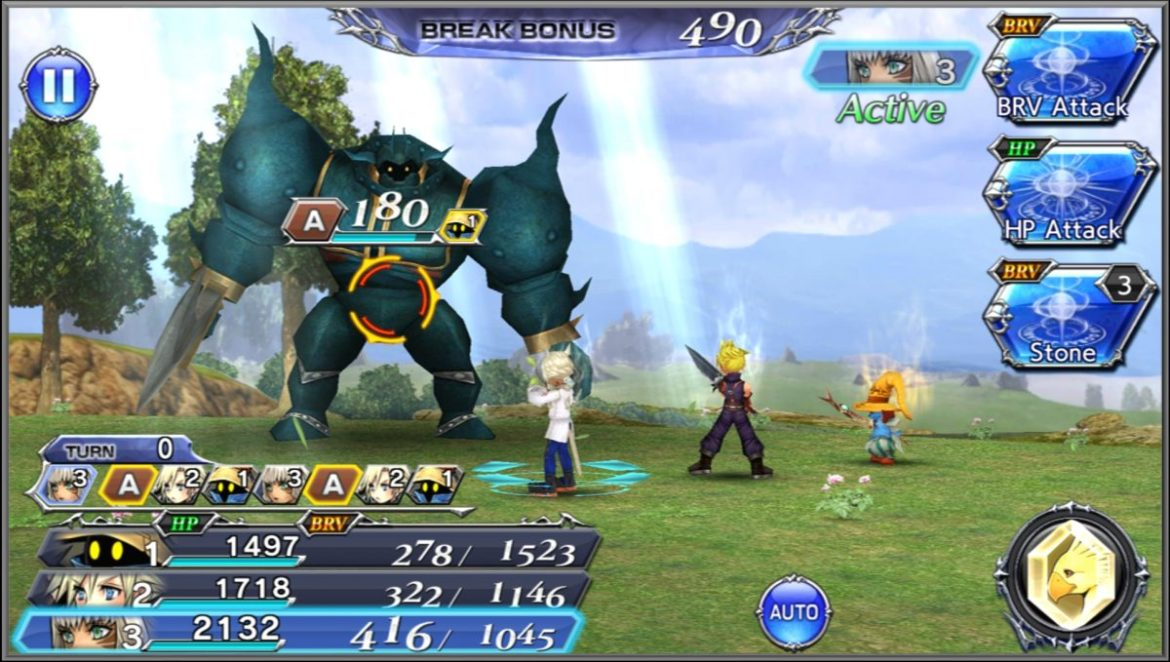 Dissidia Final Fantasy: Opera Omnia boss