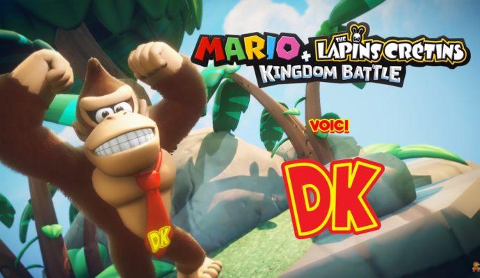 Donkey Kong arrive aussi dans Mario + Lapins Crétins Kingdom Battle