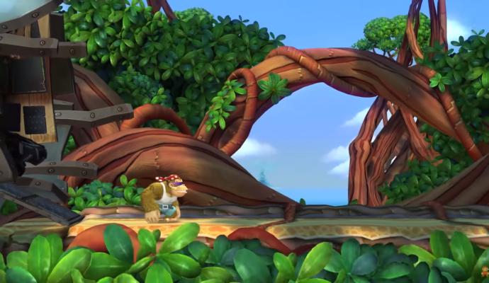 Donkey Kong: Tropical Freeze - Funky entre en scène