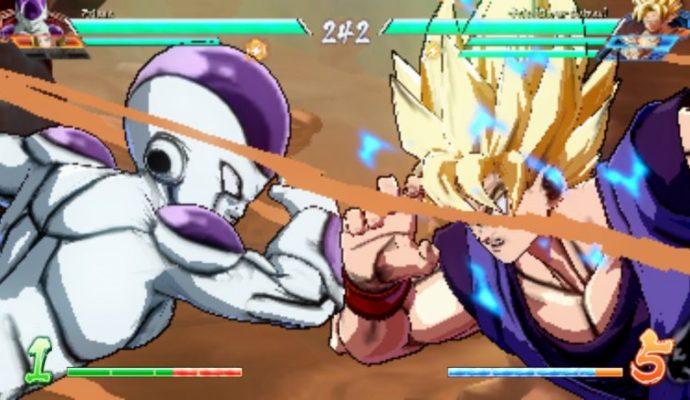 Dragon Ball FighterZ - low def Goku Freeza