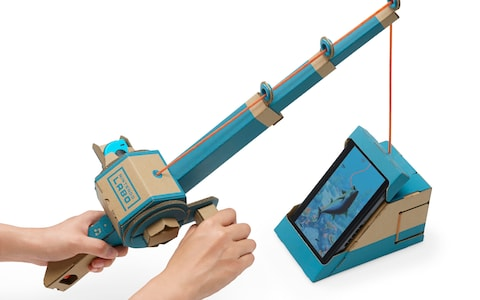 Nintendo labo canne à pêche