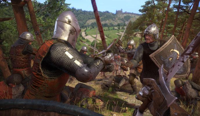 Kingdom Come: Deliverance chevaliers au combat