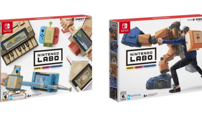 nintendo labo une annonce en carton lightningamer. Black Bedroom Furniture Sets. Home Design Ideas