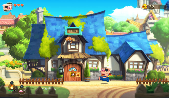 Monster Boy and the Cursed Kingdom - Auberge