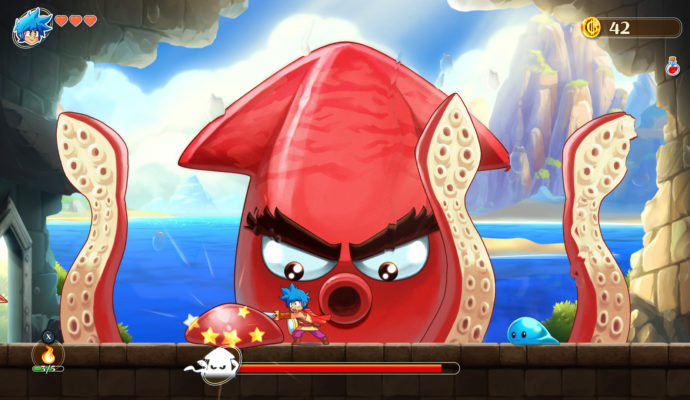 Monster Boy and the Cursed Kingdom - Meurs usine à surimi