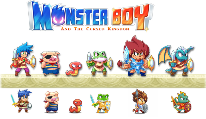 Monster Boy and the Cursed Kingdom - Persos