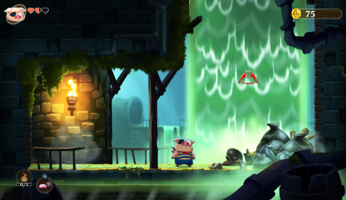 Monster Boy and the Cursed Kingdom - Porky