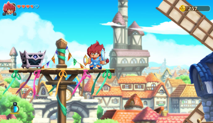 Monster Boy and the Cursed Kingdom - c'est l'histoire de la vie