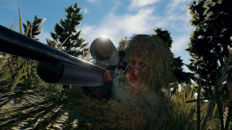 PlayerUnknown's Battlegrounds fusil