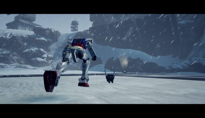New Gundam Breaker - au ski