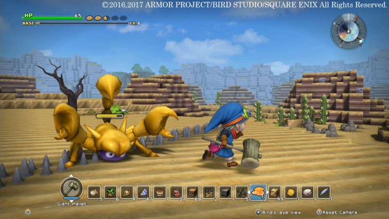 Dragon Quest Builders - Promenade dans le désert
