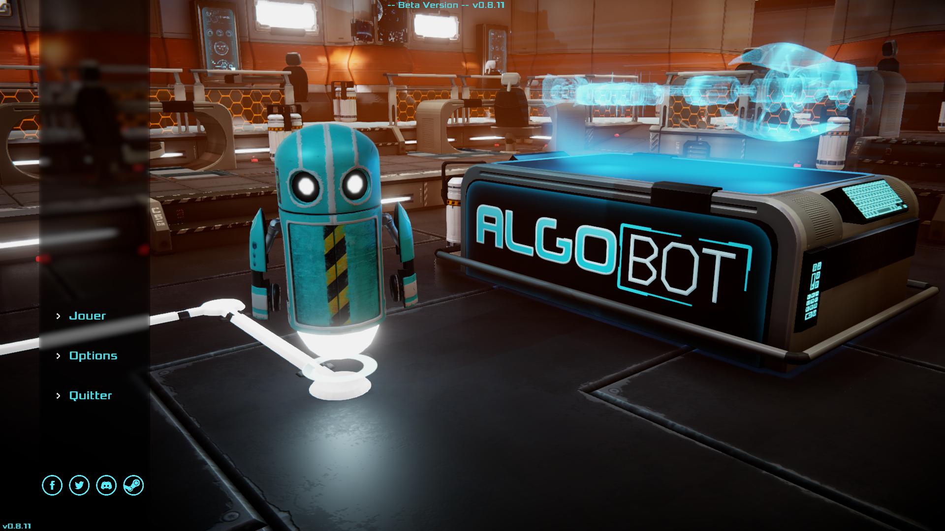 test algo bot le robot qui voulait apprendre coder lightningamer. Black Bedroom Furniture Sets. Home Design Ideas