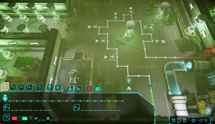 Algo Bot - Niveau vert