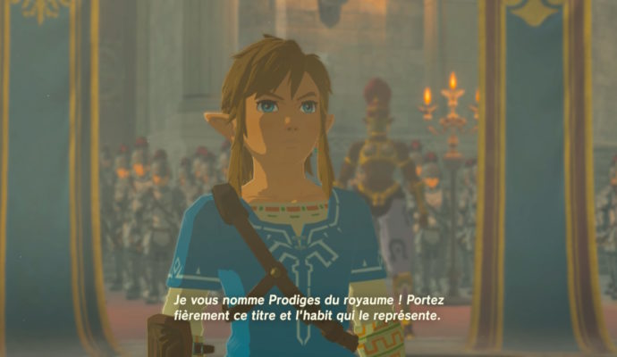 The Legend of Zelda: Breath of The Wild – DLC#2 : L'Ode aux Prodiges link au couronnement