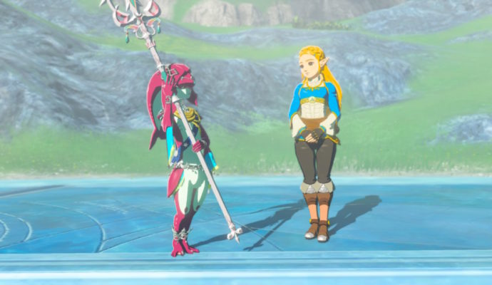 The Legend of Zelda: Breath of The Wild – DLC#2 : L'Ode aux Prodiges mipha et zelda