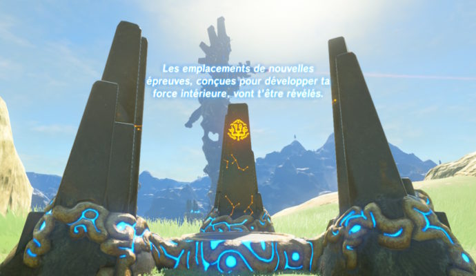 The Legend of Zelda: Breath of The Wild – DLC#2 : L'Ode aux Prodiges monolithe