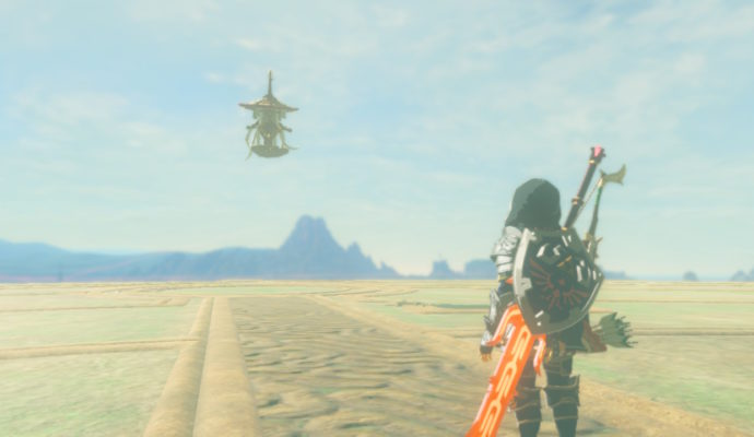 The Legend of Zelda: Breath of The Wild – DLC#2 : L'Ode aux Prodiges combat esprit sheika