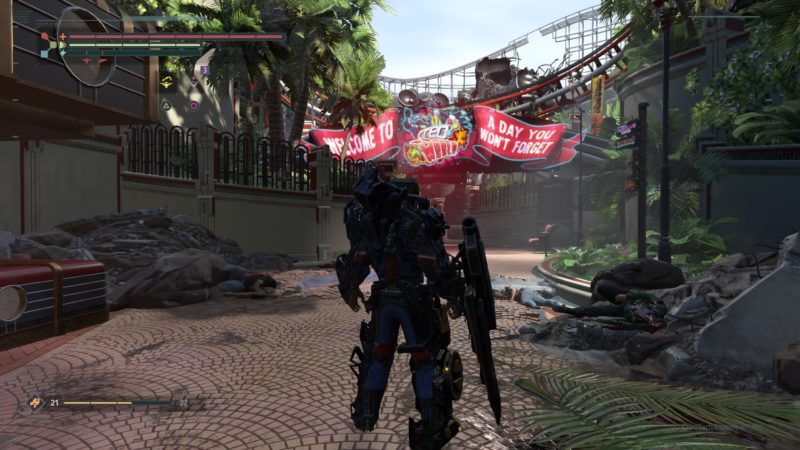 The Surge DLC A Walk in The Park - Creoworld