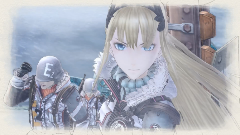 Valkyria Chronicles 4 waifu