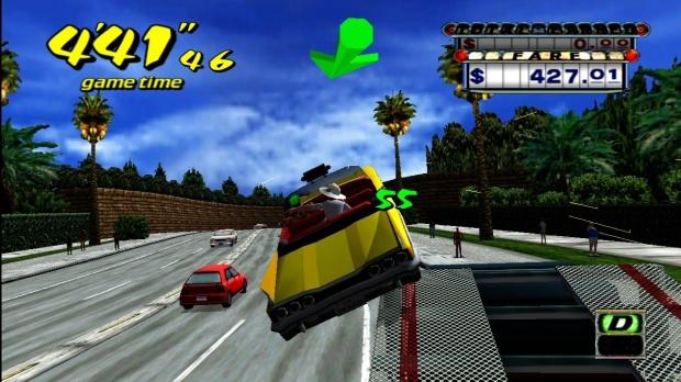 Games with Gold crazy taxi cascade