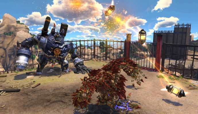 PlayStation Plus combat