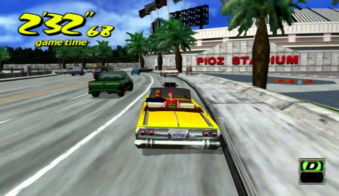 Games with Gold crazy taxi