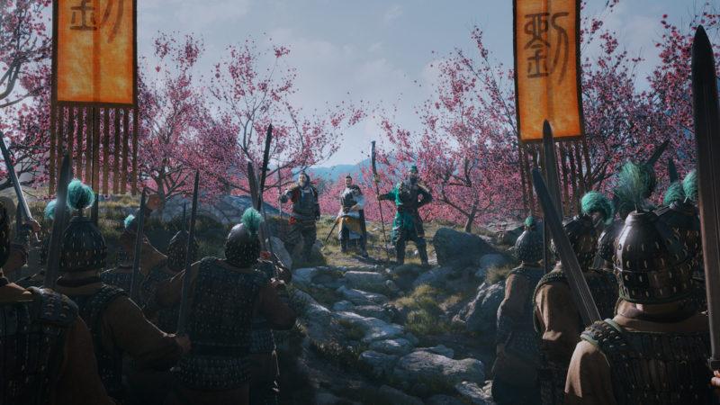 Total War: Three Kingdoms avec une belle scène