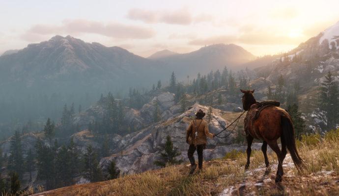 Red Dead Redemption 2 montagne
