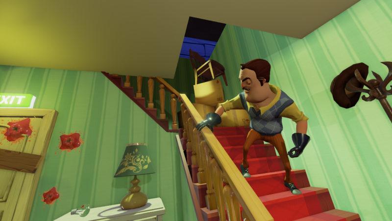 Hello Neighbor : Un voisin étrange dans sa maison.