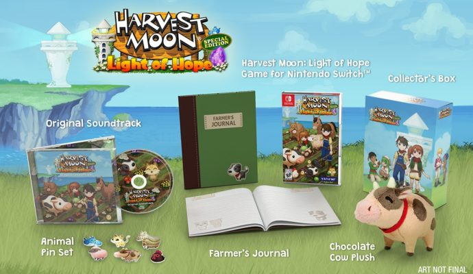 NIS America- Harvest Moon Light of Hope Switch Collector
