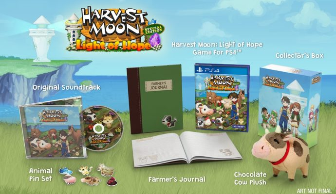 NIS America- Harvest Moon Light of Hope PS4 Collector