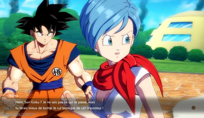 Dragon Ball FighterZ Goku et Bulma, cette MILF totale