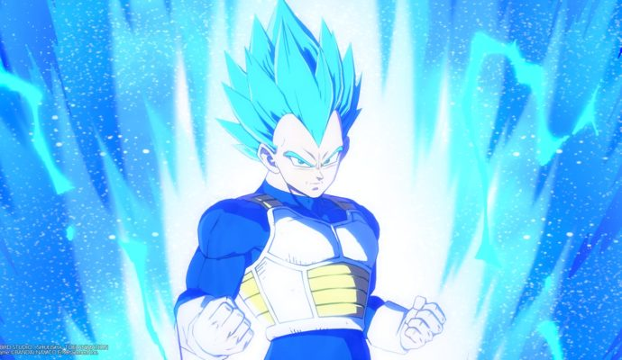 Dragon Ball FighterZ Vegeta Blue
