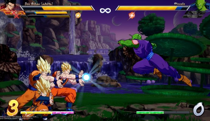 Dragon Ball FighterZ Kamehameha en famille