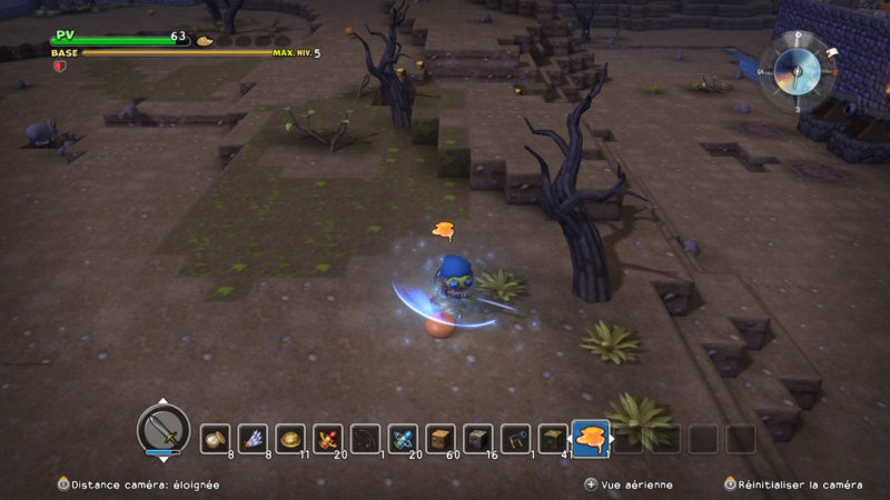 Dragon Quest Builders - Kombat time!